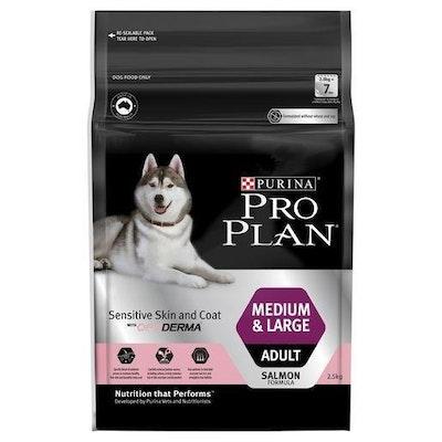 Pro Plan Adult Sensitive Skin & Coat Medium & Large Breed 2.5kg
