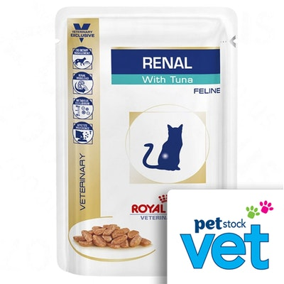 Royal Canin Vet Renal Tuna Wet Cat Food 85G