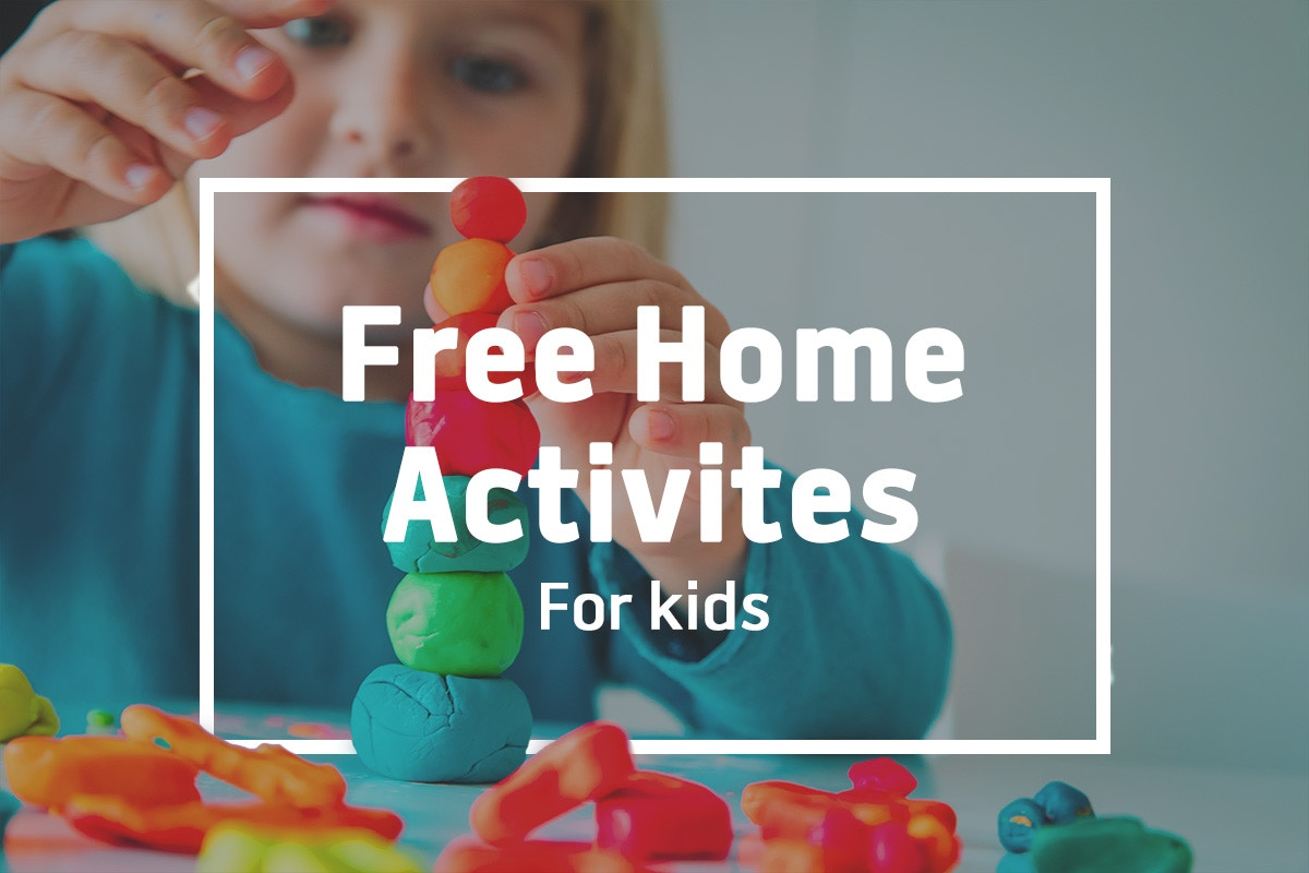 Free home activities for kids