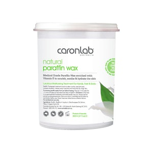 Caronlab Paraffin Wax Natural 800ml Manicure Pedicure Moisture Treatment