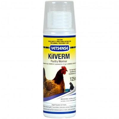 Vetsense Kilverm Poultry Wormer