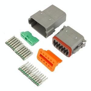 Deutsch DT 12-Way 12 Pin Electrical Connector Waterproof Plug Kit