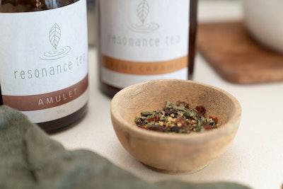 resonance tea AMULET Herbal Tea Blend BioPak