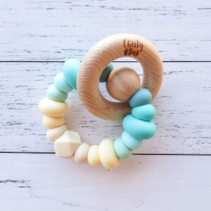 Cheeky Toes Cheeky RATTLE Teething Toy I TROPIC Collection