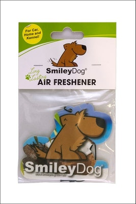 Smiley Dog Coconut Air Freshener