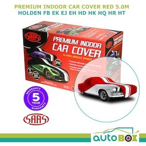 SAAS Indoor Show Car Cover FB EK EJ EH HD HK HQ HR HT Classic Holden Red 5.0m