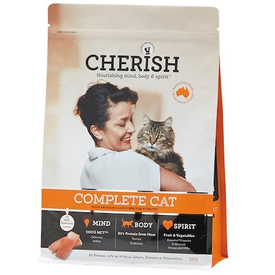 CHERISH Complete Cat Mental Alertness & Wellbeing Dry Cat Food - 2 Sizes