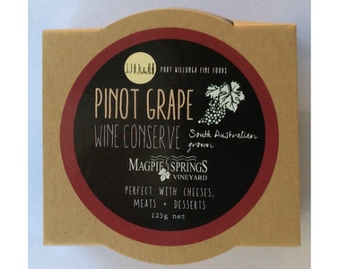 Pinot Grape Wine Conserve 125g