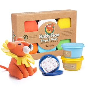 JarMelo MODELING DOUGH -6 COLORS