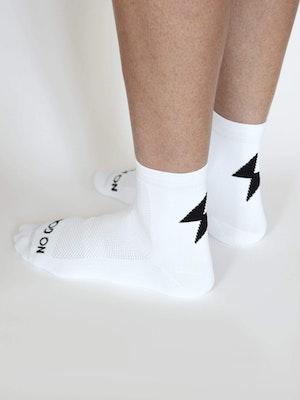 No Gods No Masters Power-Up Summer Socks - White