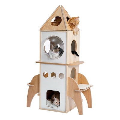 House of Pets Delight The Rocket Cat Tree Scratching Post Condo (PREORDER)
