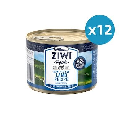 ZiwiPeak ZIWI Peak Cat Lamb Recipe Can 185G X 12