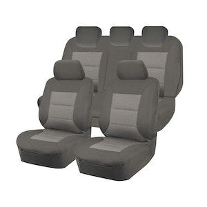 Premium Car Seat Covers For Mazda Bt50 Ur Series 2015-2020 Dual Cab | Grey