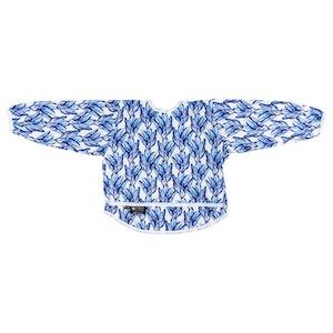 Designer Bums Blue Tropics Smock 4-6 Years