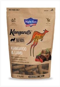 Kangaruffs Dog Kangaroo & Lamb 210g