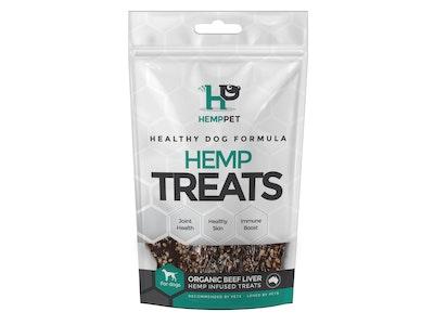Hemp Pet HempPet Dog Treats Organic Beef Liver 80g