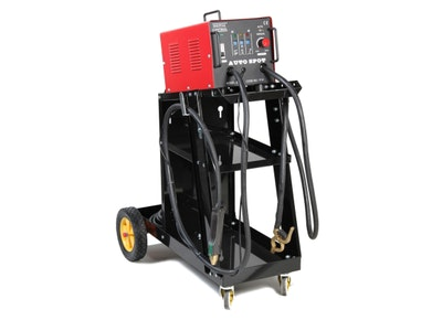 Automotive Dent Puller with Lever Pulley And Trolley