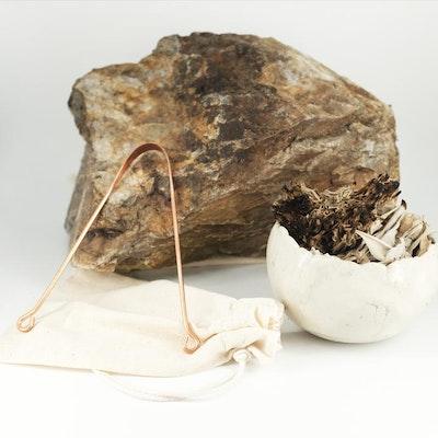 AyurvedaSOL Copper Tongue Scraper