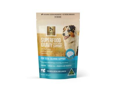 Natural Pet Supplements Stress & Anxiety Support Superfood Gravy