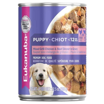 Eukanuba Puppy Beef & Chicken Wet Dog Food 354G