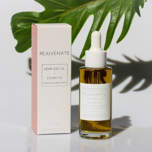 Blackwood Hemp Face Oil 'REJUVENATE' | Repair and Nourish with plant-based skincare