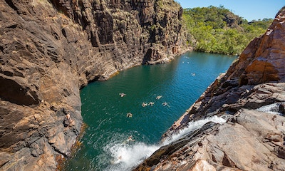Swimming Wild: when & where to go in the Northern Territory