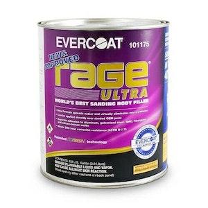 Evercoat Rage Ultra Body Filler 3 Litre