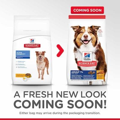 Hills Hill's Science Diet Senior Chicken Dry Dog Food