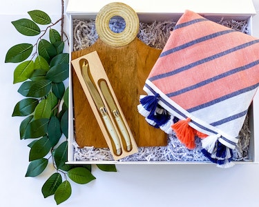 Picnic Party - Navy and Coral