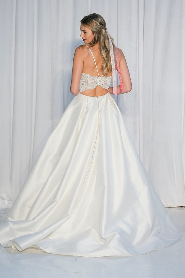 Anne Barge Two Piece Wedding Dress