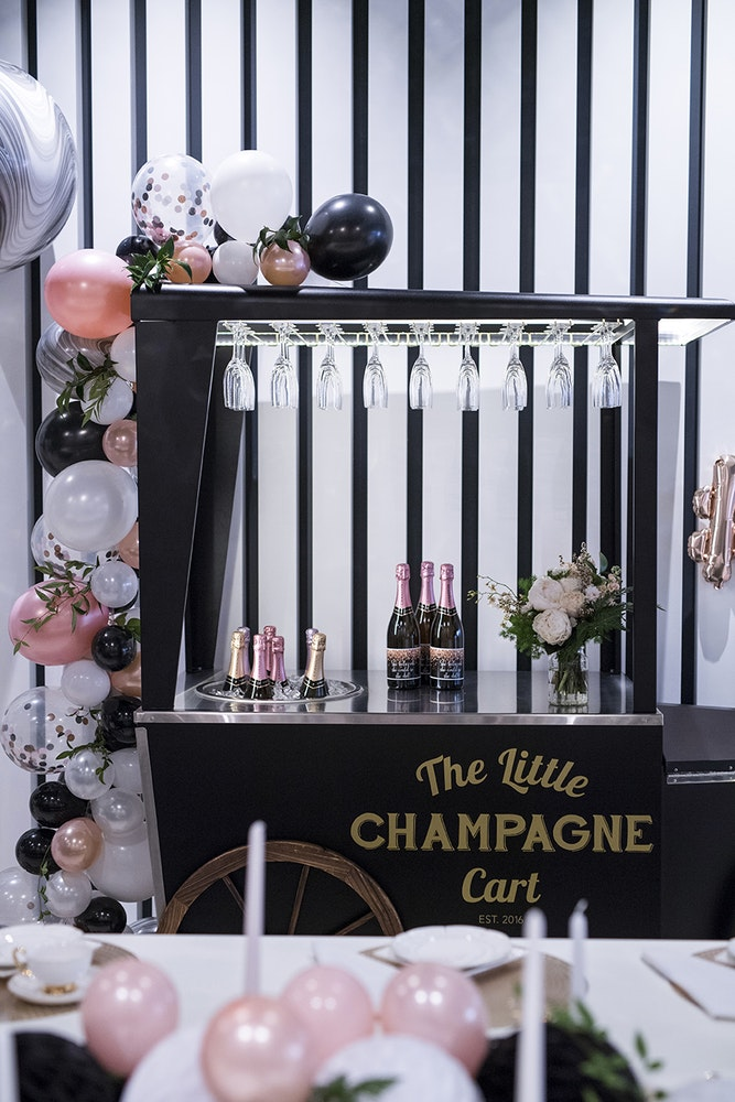 Favor Lane Champagne High Tea Champagne Bar
