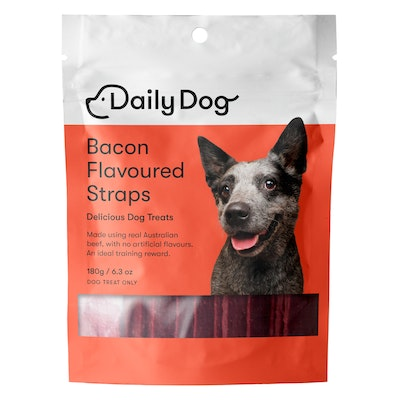 Daily Dog Bacon Flavoured Straps