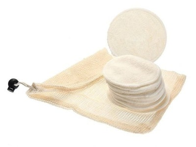 arōmaLEAF Reusable Bamboo Facial Pads