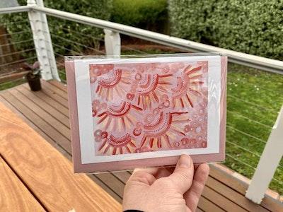 Yarli Creative Aboriginal Art - Greeting Cards Nitel