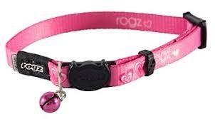 Rogz Kiddycat Collar 11mm Pink Hearts