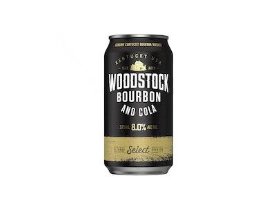 Woodstock Bourbon & Cola 8% Can 375mL