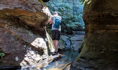 Nayook Creek: a mini canyon adventure