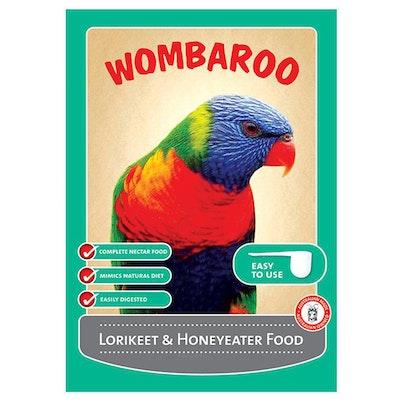 Wombaroo Lorikeet and Honeyeater Nectar Bird Food - 4 Sizes