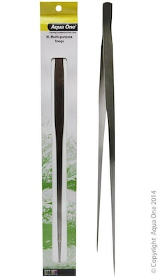 Reptile One Multi Purpose Tongs XL 48cm Stainless Steel