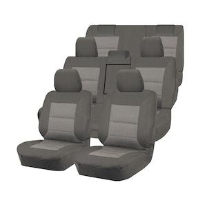 Premium Car Seat Covers For Toyota Kluger Gsu50R/Gsu55R 2013-2020 4X4 Suv/Wagon | Grey