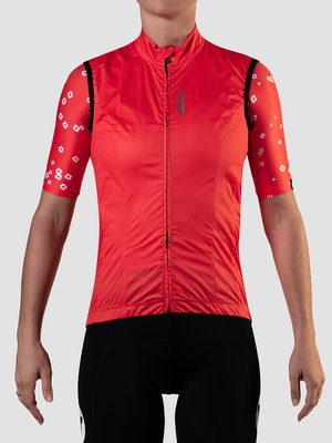 Black Sheep Cycling Women's Essentials TEAM Vest - Block Warm Red