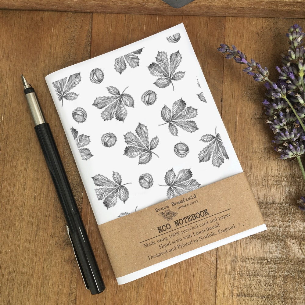 Bruce Bramfield Horse Chestnut Eco Notebook