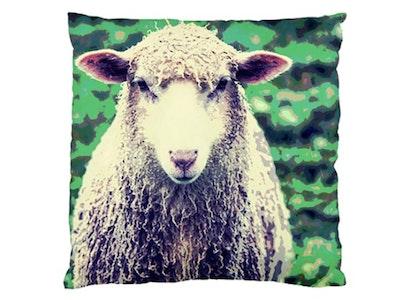 Paw & Petal Designs Baa Cushion