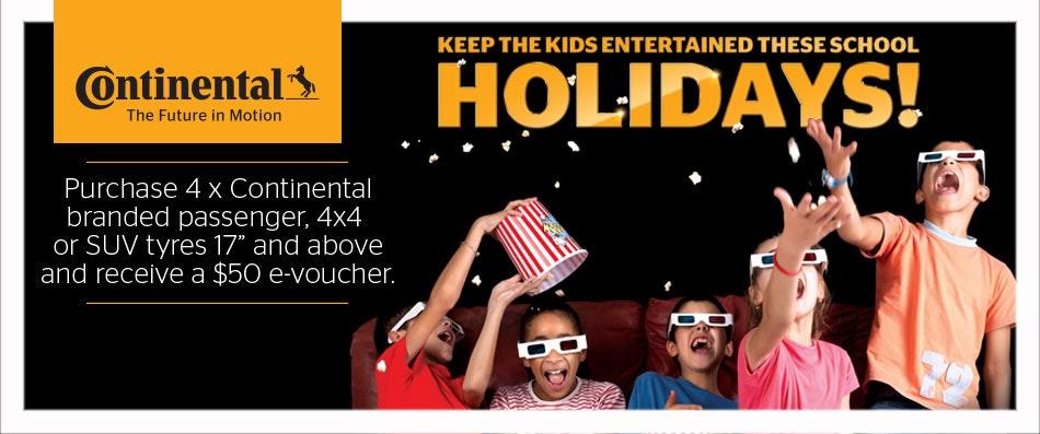 Continental Movie E-voucher Promotion