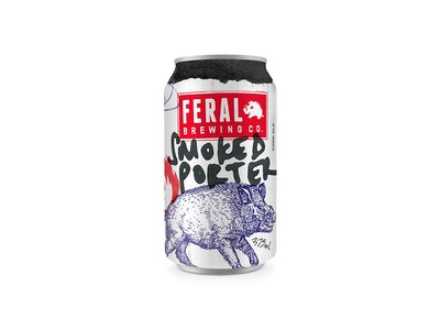 Feral Smoked Porter Can 375mL