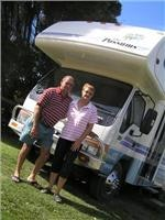 The Possums  Sharron  and Darryl  with their Winnebago on route to Horsham for the CMCAs National Rally  GoSeeAustralia pic