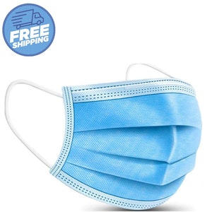 3-Ply surgical style face masks. 2020
