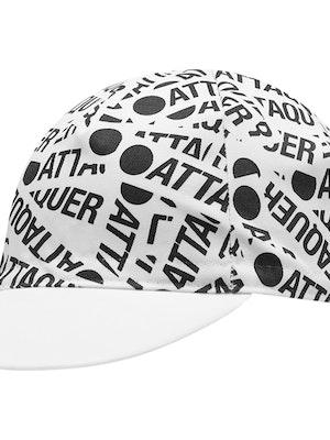 Attaquer F*ck Yeah Sticker Cap White/Black