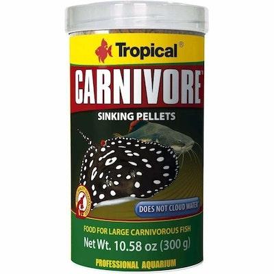 Tropical Carnivore Pellets Sinking 300G