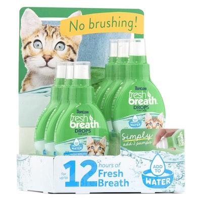 Tropiclean Fresh Breath Drops for Cats 59ml